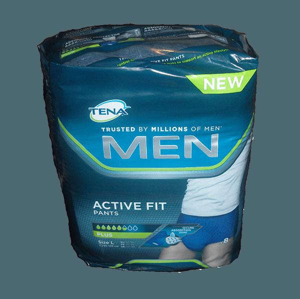 d435fea40 Tena Active Fit Plus til mænd, undertøj ved inkontinens, str. L