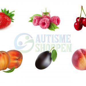 Piktogrammenu til autister: Frugt uden tekster