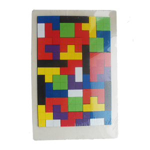 Tetris træpuslespil