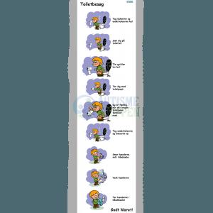 Træningspiktogrammer for autister, Toiletbesøg, dreng