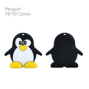 Bidesmykke/tyggehalskæde med pingvin