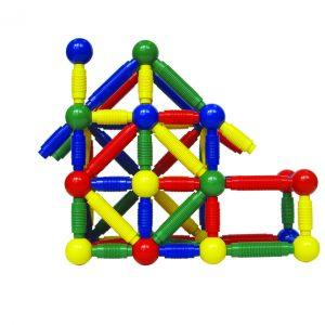 Jumbo magnetisk byggelegtøj