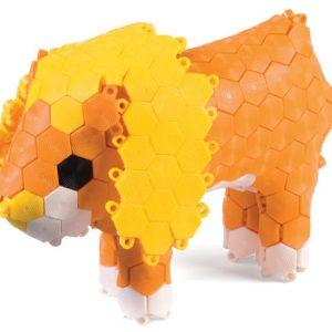 Hexiflex 1250 stykker sensorisk byggelegetøj