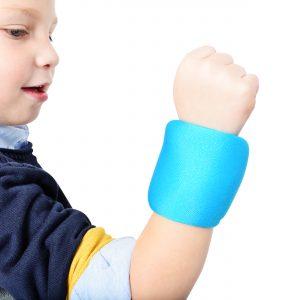 Håndledsvægte til børn 200 g hver
