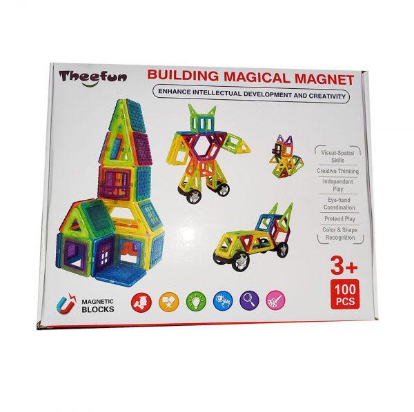 Theefun magnetisk byggesæt 100 dele