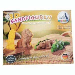 3D Former til kinetisk sand